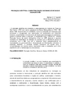 Produção científica: compatibilização dos Bancos de Dados Dedalus e BBI. (Pôster)