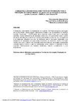 A biblioteca universitária como fonte de informação para a produção do conhecimento: um estudo com os docentes do Instituto Lynaldo Cavalcanti- UNIPB em João Pessoa/PB.