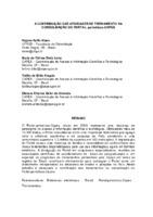 A contribuição das atividades de treinamento na consolidação do Portal. Periódicos. CAPES.