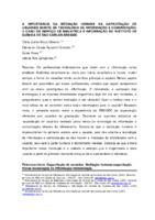 A importância da mediação humana na capacitação de usuários diante da tecnologia de informação e comunicação: o caso do serviço de biblioteca e informação do Instituto de Química de São Carlos- SBI/QSC.