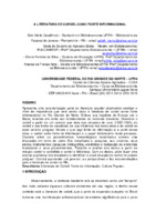 A literatura de cordel como fonte informacional.