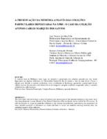 A preservação da memória através das coleções particulares depositadas na UFRJ: o caso da coleção Afonso Carlos Marques dos Santos.