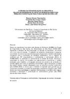 A semana da Pós- Graduação na Biblioteca: relato de experiência de apoio ao desenvolvimento da pesquisa e orientação para publicações na EESC- USP.
