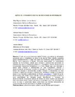 Ações de letramento digital na sociedade da informação.