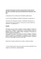 Analise da produção cientifica dos docentes do Instituto de Biologia da UNICAMP publicada em periódicos no período de 1992- 2005.