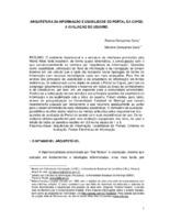 Arquitetura da informação e usabilidade do Portal da Capes: a avaliação do usuário.