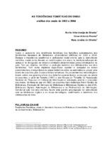 As tendências temáticas do SNBU: análise dos anais de 2002 e 2004.