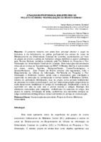 """Atuação do profissional bibliotecário no projeto de ensino """"Normalização da revista SEMINA""""."""