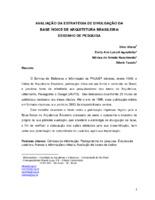 Avaliação da estratégia de divulgação da base índice de arquitetura brasileira: desenho de pesquisa.
