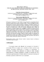 Biblioteca virtual: análise das comunicações dos Seminários Nacionais de Bibliotecas Universitárias 1996 - 2004.