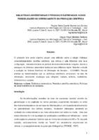Bibliotecas universitárias e periódicos eletrônicos: novas possibilidades no gerenciamento da produção científica.