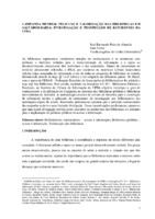 Campanha mundial pelo uso e valorização das bibliotecas em Salvador-Bahia: investigação e prospecção de estudantes da UFBA.