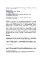 Cartografia de dissertações e teses:uma aplicaçao à área de ciência da informação.