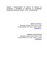 Criação e desenvolvimento de website em unidades de informação: a experiência da biblioteca da Universidade Tecnológica Federal do Paraná  UF TPR - Campus Curitiba.