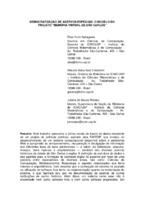 """Democratização de acervos especiais: o modelo do Projeto """"Memória Virtual de São Carlos""""."""
