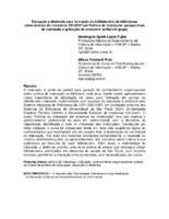 Educação à distância para formação do bibliotecário de bibliotecas universitárias do consórcio CRUESP em Política de indexação: perspectivas de conteúdo e aplicação de protocolo verbal em grupo
