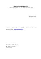 Empréstimo entre bibliotecas: ampliando o acervo das Bibliotecas da Rede UNESP.