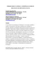 Ensinando MARC21 a distância: a experiência da Divisão de Bibliotecas e Documentação da PUC-RIO.