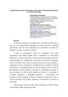 Evolução dos Grupos de Pesquisa em Ciência da Informação cadastrados no Diretório do CNPq.