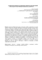Fatores motivacionais da comunidade científica para publicação e divulgação de sua produção em revistas científicas.