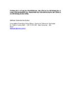 Formação e atuação profissional em ciência da informação: o caso dos egressos do Programa de Pós-Graduação em Ciência da Informação da UFMG.