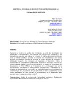 Gestão da informação e competências profissionais na formação de usuários.