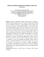 Gestão da informação mediada pela Biblioteca Virtual em Psicologia.