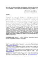 Inclusão dos portadores de necessidades especiais em unidade de informação: o setor de cadastramento da Biblioteca do IESP.