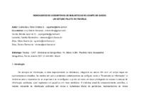 Indicadores de desempenho de bibliotecas no campo da saúde: um estudo piloto na FIOCRUZ.