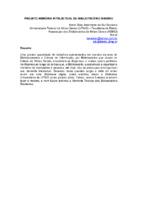 Projeto Memória Intelectual do Bibliotecário Mineiro.