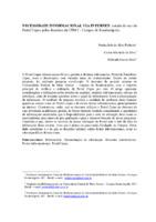 Necessidade informacional via internet: estudo do uso do Portal Capes pelos docentes da UFMT- Campus Rondonópolis.