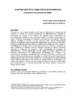 O artigo científico como fonte de informação utilizada nos Anais do SNBU.