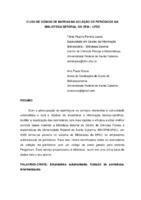O uso de código de barras na coleção de periódicos da Biblioteca Setoria do CFM-UFSC.
