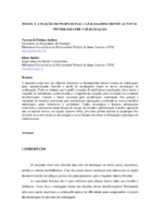 Perfil e atuação do profissional catalogador frente as novas tecnologias de catalogação.