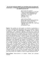 Política de desenvolvimento de coleções para os cursos de graduação: a proposta do Instituto de Ciências Matemáticas e de Computação da USP.