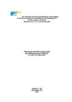 Produção científica publicada em periódicos eletrônicos: o caso da ESALQ/USP.