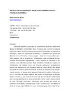 Projeto Bibliocapacitação: a biblioteca universitária e a produção acadêmica.