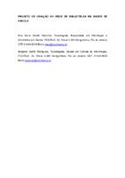 Projeto de criação da Rede de Bibliotecas em Saúde de Angola.