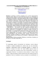 Qualidade em bibliotecas universitárias da área pública: a contribuição do Gespública.