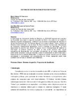 Sistema de gestão na Biblioteca do IFSC/USP.