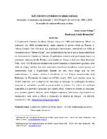 Suplemento Literário de Minas Gerais: indexação, restauração, digitalização e microfilmagem do acervo de 1966 a 2006.O desafio de colocar 40 anos on-line.