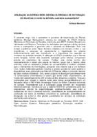 Utilização do Sistema SEER: Sistema Eletrônico de Editoração de Revistas: o caso da Revista Maringá Management.