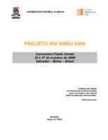 PROJETO XIV SNBU 2006