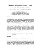 A biblioteca da Universidade Positivo e o acervo digital da Memória Roberto Campos.