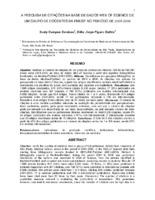 A pesquisa de citações na Base de Dados Web of Science de um grupo de docentes da FMUSP no período de 2001-2006.