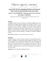 Análise do uso das ferramentas Web 2.0 aplicadas às bibliotecas da Universidade de São Paulo (USP).