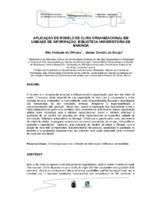A aplicação do modelo de clima organizacional em unidades de informação: Biblioteca Universitária de Maringá.