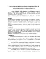 A aplicação do modelo ServQual para a percepção da qualidade da biblioteca acadêmica.