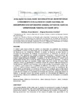 Avaliação da qualidade das bibliotecas universitárias e rendimento dos alunos no Exame Nacional de Desempenho dos Estudantes (ENADE): estudo de caso da Universidade Federal do Ceará (UFC).