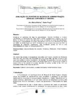 Avaliação de periódicos na área de Administração, Ciências Contábeis e Turismo.